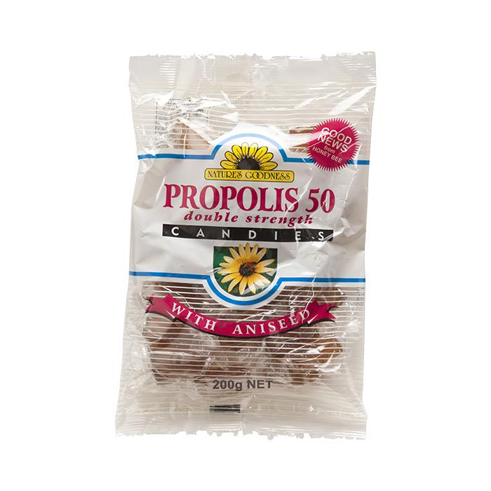 Nature's Goodness Propolis Candies Double Strength With Aniseed 200g