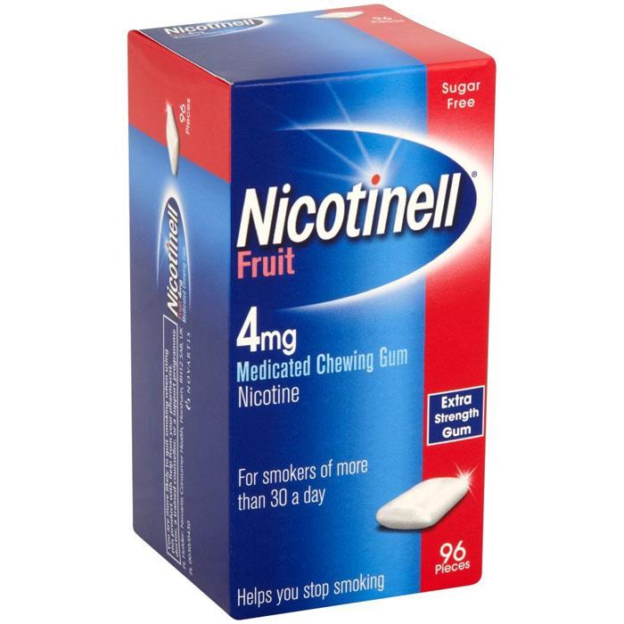 Nicotinell Gum 4mg Fruit X 96