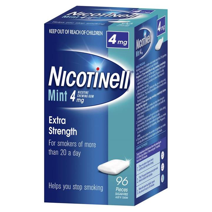 Nicotinell Gum 4mg Mint X 96