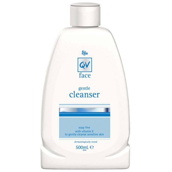 Ego QV Face Gentle Cleanser With Vitamin E 500ml