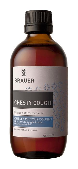 Brauer Respatona Chesty Cough And Nasal Congestion 200ml