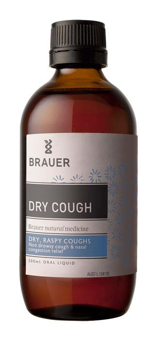 Brauer Respatona Dry Cough And Nasal Congestion 200ml