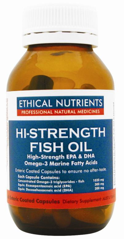 Ethical Nutrients Omegazorb High Strength Omega-3 Cap X 60