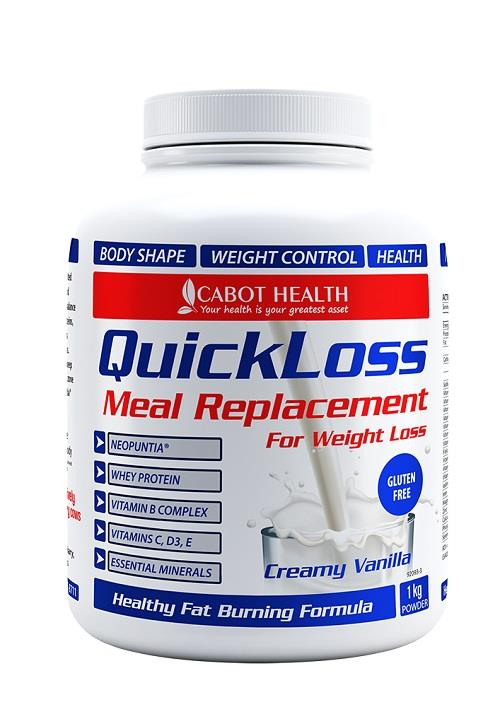 Sandra Cabot's Quick Loss Meal Replacement (Vanilla) 1 Kg