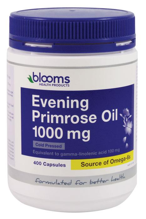 Henry Blooms Evening Primrose Oil 1000mg Cap X 400