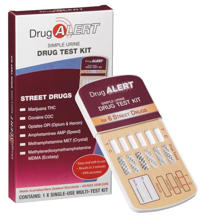 Drug Alert Street Drugs Test Kit X 1 Test