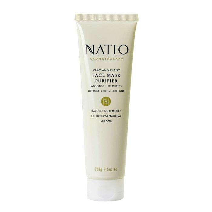 Natio Clay And Plant Face Purifier Mask 100g