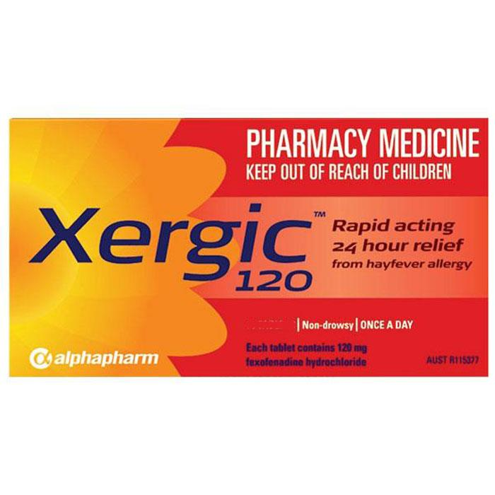 Xergic 120 Tab X 30 (Generic For TELFAST)