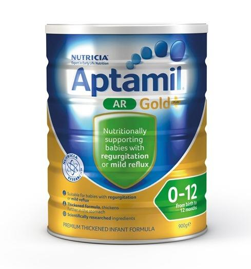 Aptamil Gold Plus Anti-Reflux Infant Formula (0-12 Months) 900g