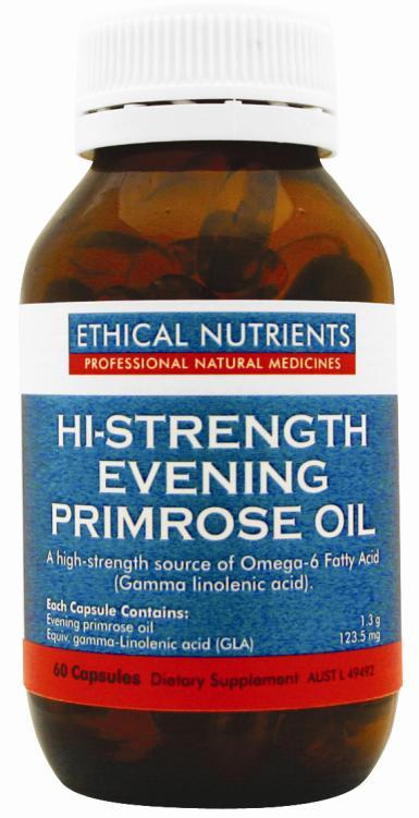 Ethical Nutrients Hi-Strength Evening Primrose Oil Cap X 60