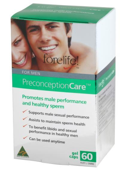 Forelife! Preconception Care For Men Cap X 60