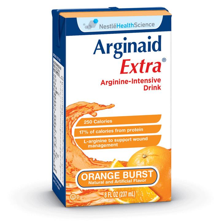 Arginaid Extra For Wounds Orange Burst 237ml X 27