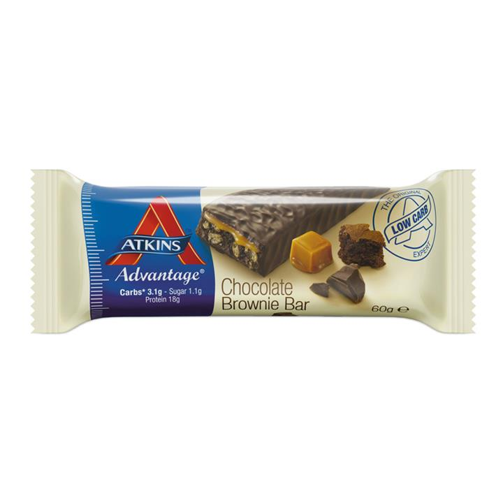 Atkins Advantage Chocolate Brownie Bars 60g X 15