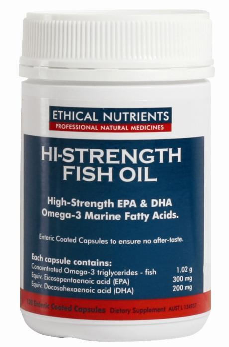 Ethical Nutrients Omegazorb High Strength Omega-3 Cap x 120