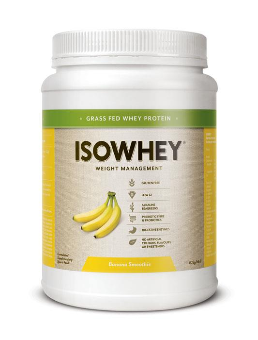 IsoWhey Complete Weight Loss – Banana Smoothie 672g