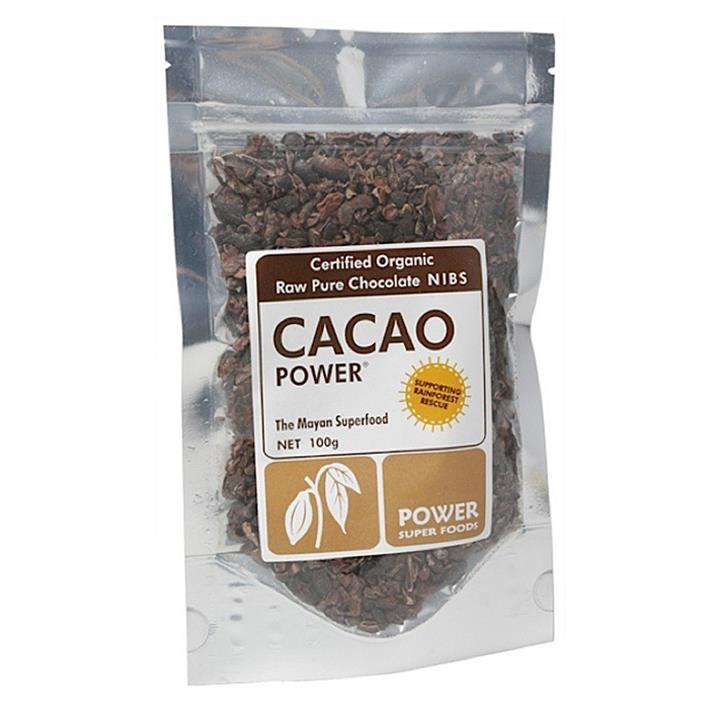 Power Super Foods Cacao Nibs Raw 125g