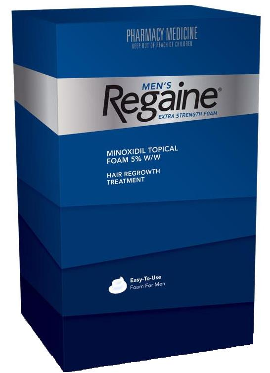 Regaine (Rogaine) Men Extra Strength Foam 5% 60g (4 Month Supply)