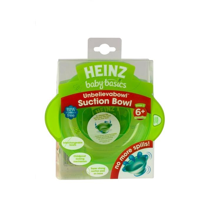 Heinz Baby Basics Unbelievabowl Super Strong Suction Bowl (Assorted Colours)