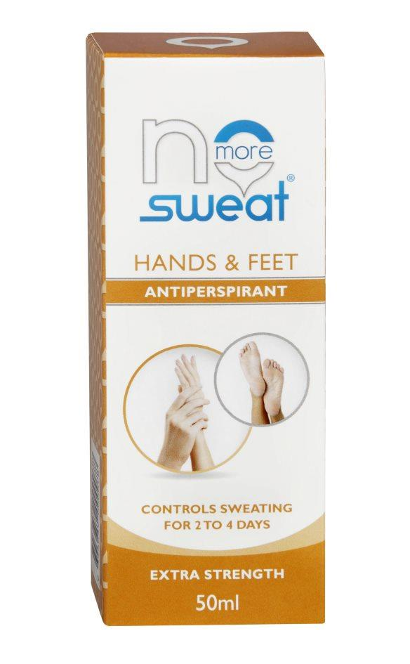 No Sweat Hands And Feet 50ml