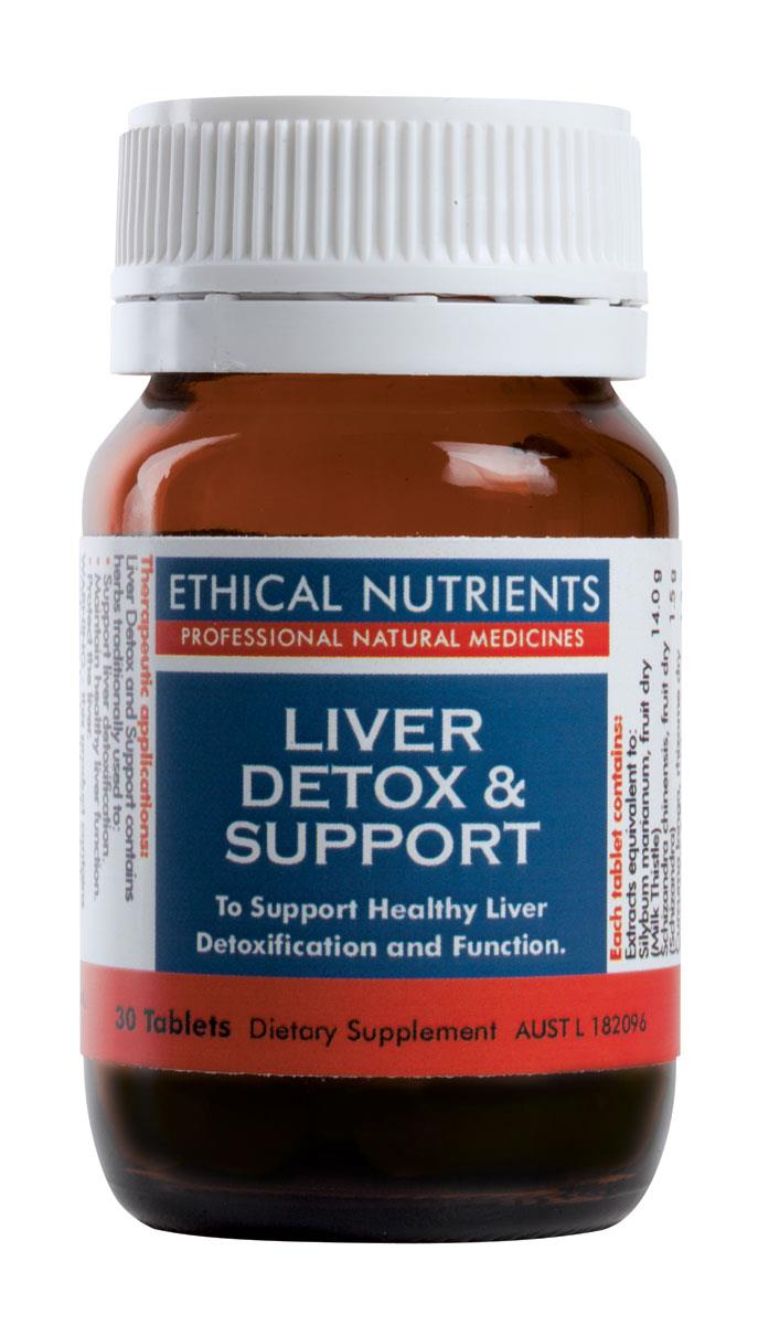 Ethical Nutrients Liver Detox and Support Tab X 30