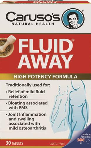 Caruso's Natural Health Fluid Away Tab X 30
