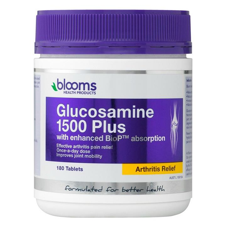 Henry Blooms Glucosamine 1500 Plus Tab X 180
