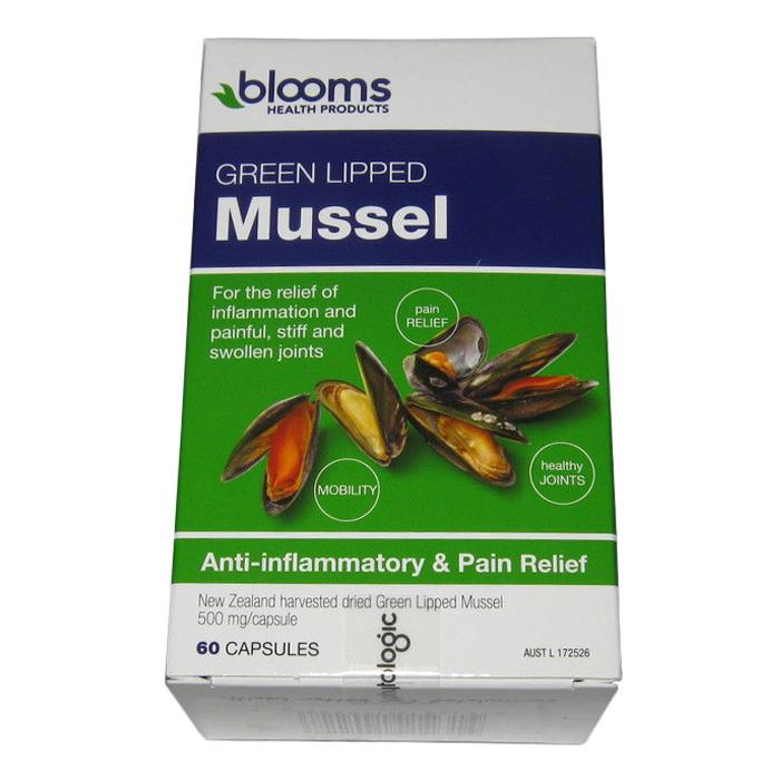 Henry Blooms Green Lipped Mussel 500mg Cap X 60