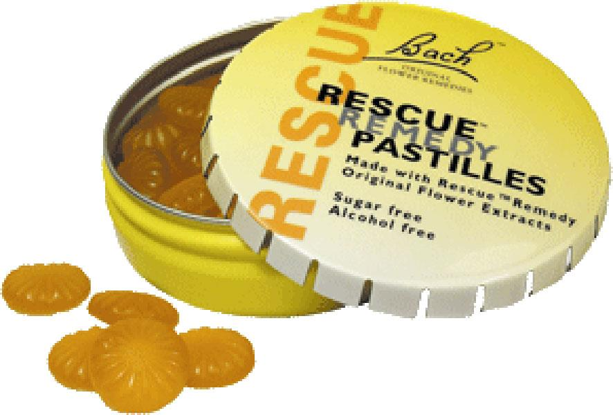 Rescue Remedy Pastille Orange and Elderflower Original 50g