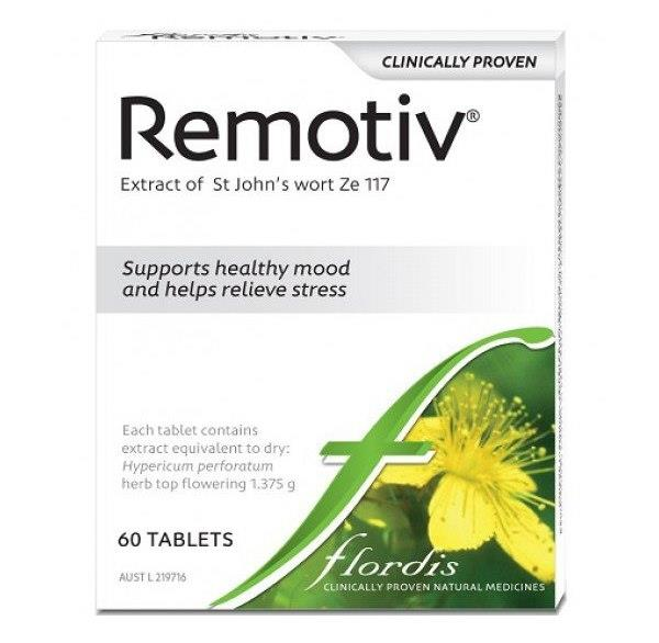Flordis Remotiv For Stress Relief (St John's Wort) Tab X 60