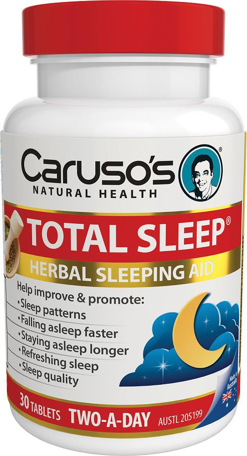 Caruso's Natural Health Total Sleep Tab X 30