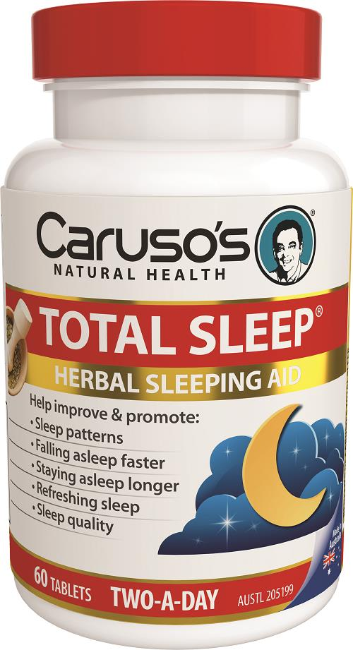 Caruso's Natural Health Total Sleep Tab X 60