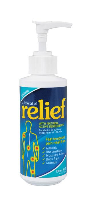A Little Bit Of Relief Cooling Gel 150ml Pump