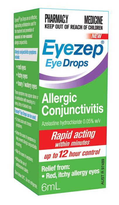 EyeZep Eye Drops For Allergic Conjunctivitis 6ml