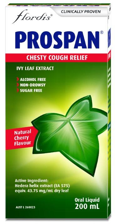 Flordis Prospan Chesty Cough Relief (Ivy Leaf) 200ml (EXPIRY 04/2020)