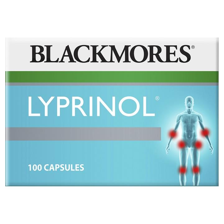 Blackmores Lyprinol (Green Lipped Mussel) 50mg Cap X 100 (Value Pack)