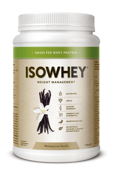 IsoWhey Complete Weight Loss – Madagascan Vanilla 1.28kg