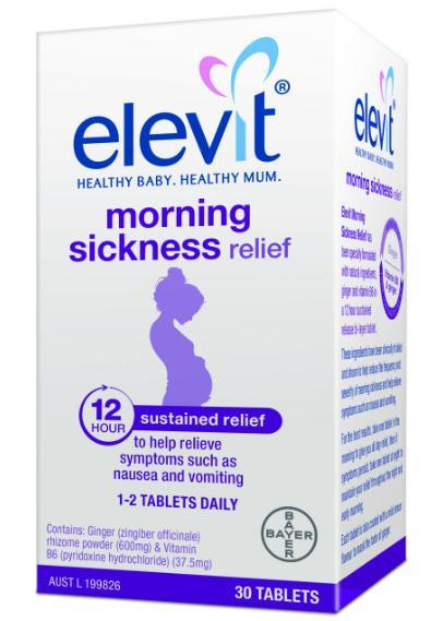 Elevit Morning Sickness Relief Tab X 30