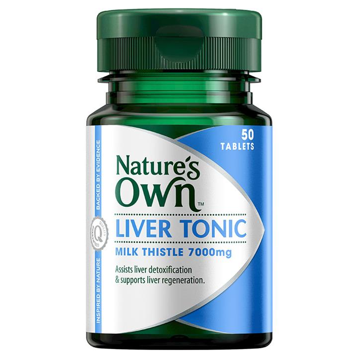 Nature's Own Liver Tonic Milk Thistle 7000mg Tab X 50