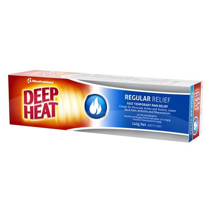 Deep Heat Regular Rub 140g