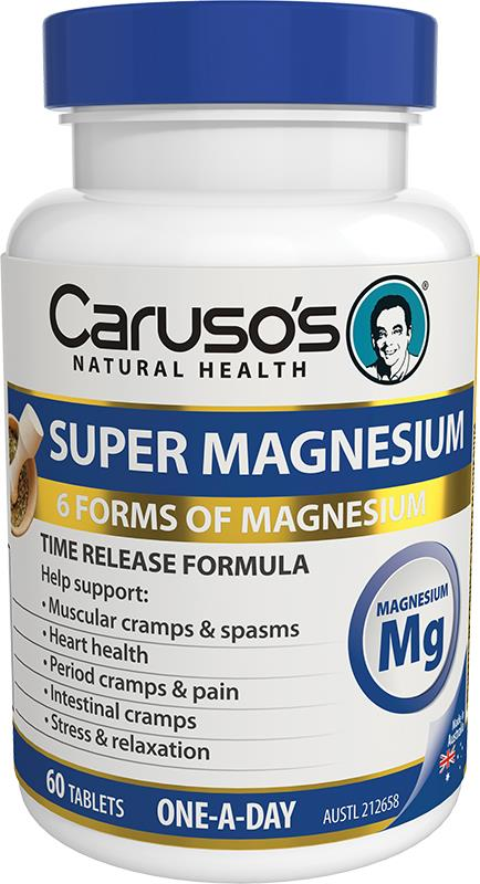 Caruso's Natural Health Super Magnesium One A Day Tab X 60