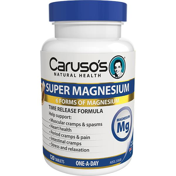 Caruso's Natural Health Super Magnesium One A Day Tab X 120