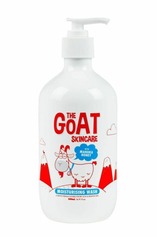 The Goat Moisturising Body Wash With Manuka Honey 500ml