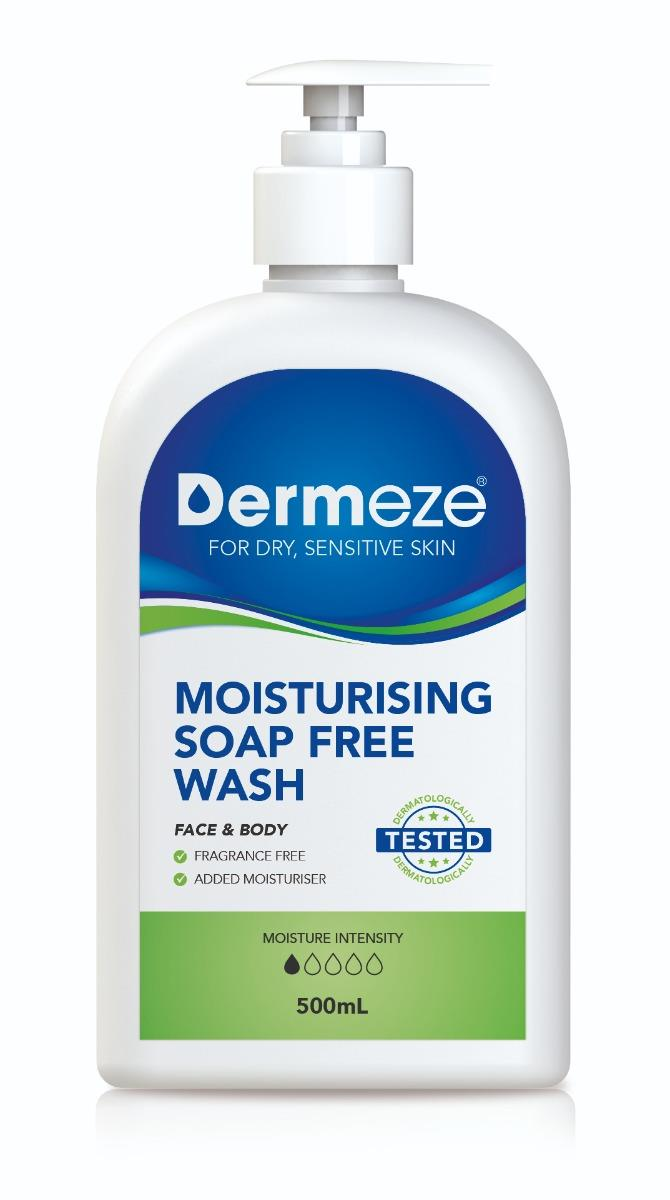 Dermeze Moisturising Soap Free Wash 500ml
