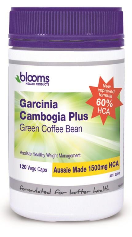Henry Blooms Garcinia Cambogia Plus Green Coffee Bean Cap X 120