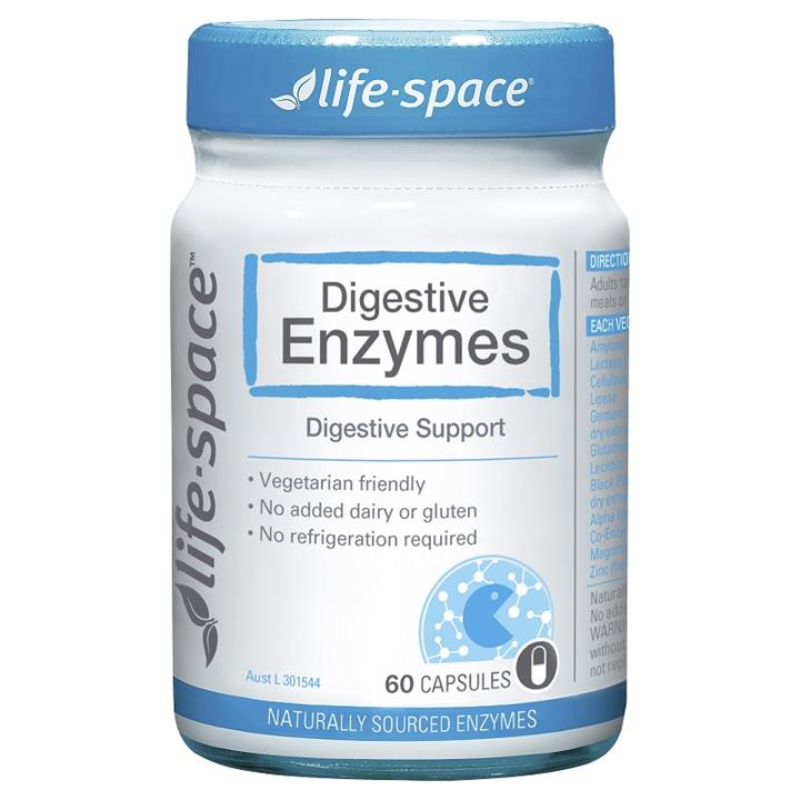 Life Space Digestive Enzymes Cap X 60
