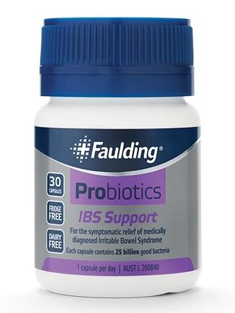 Faulding Probiotics IBS Support Cap X 30