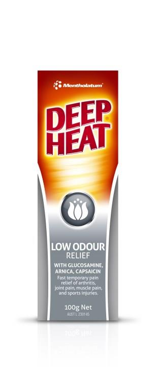 Deep Heat Low Odour Cream 100g