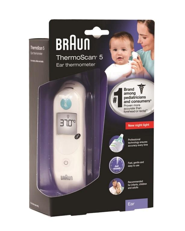 Braun ThermoScan IRT 6030 Ear Thermometer
