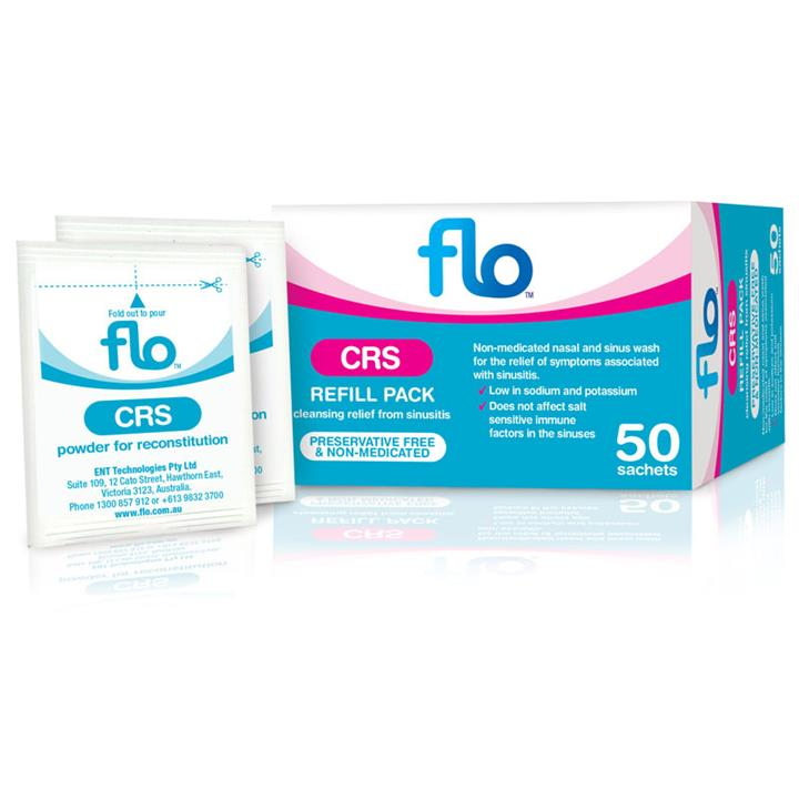 Flo Cleansing Relief from Sinusitis Refill X 50
