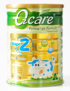 OZCare Follow-on Formula From 6 months 900g (Expiry 02/2020)
